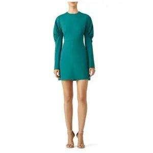 Tibi Midori Florence Mini Dress Puff long sleeve 4